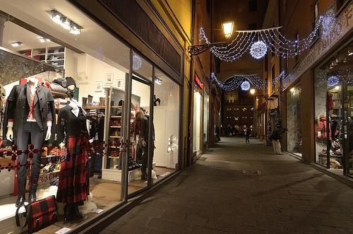 Vestirsi a Bologna - shop